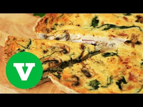 Spinach And Ham Quiche: Good Food Good Times