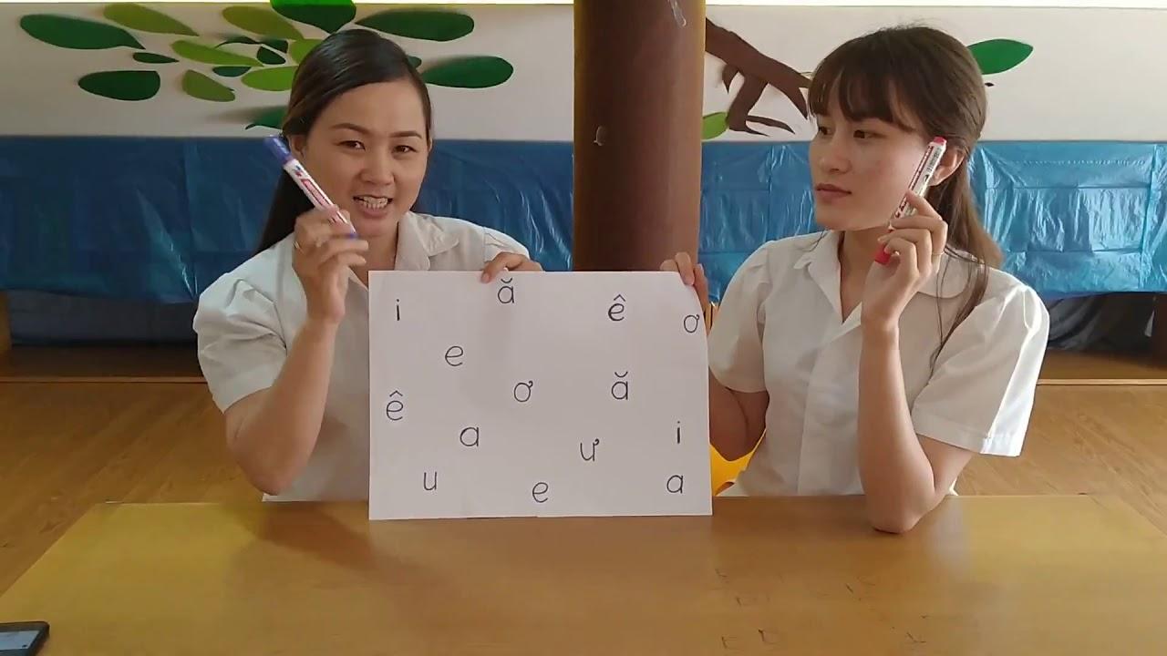 Trò chơi và bài tập với chữ cái | TONBO (5 tuổi) – CCK1 – 200224