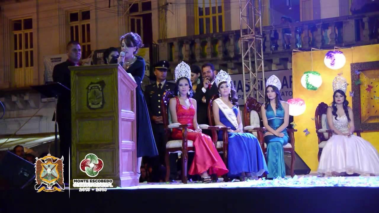 Coronacion Y Baile En Monte Escobedo Zacatecas 3 De Mayo 2014