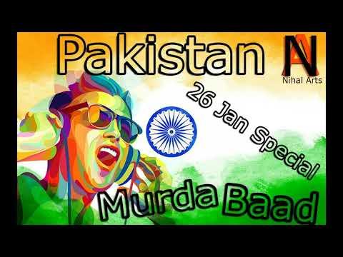 Pakistan Murdabad | Best Dj Remix Hindustan vs pakistan | 26 jan special