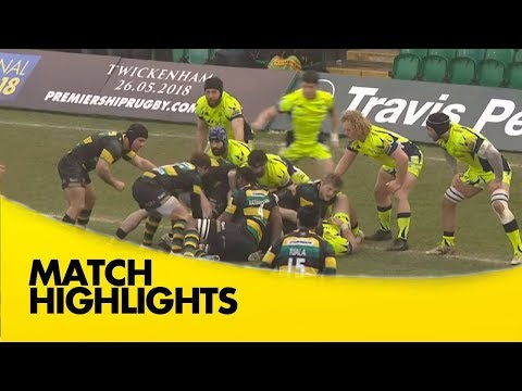 Northampton Saints v Sale Sharks - Aviva Premiership Rugby 2017-18