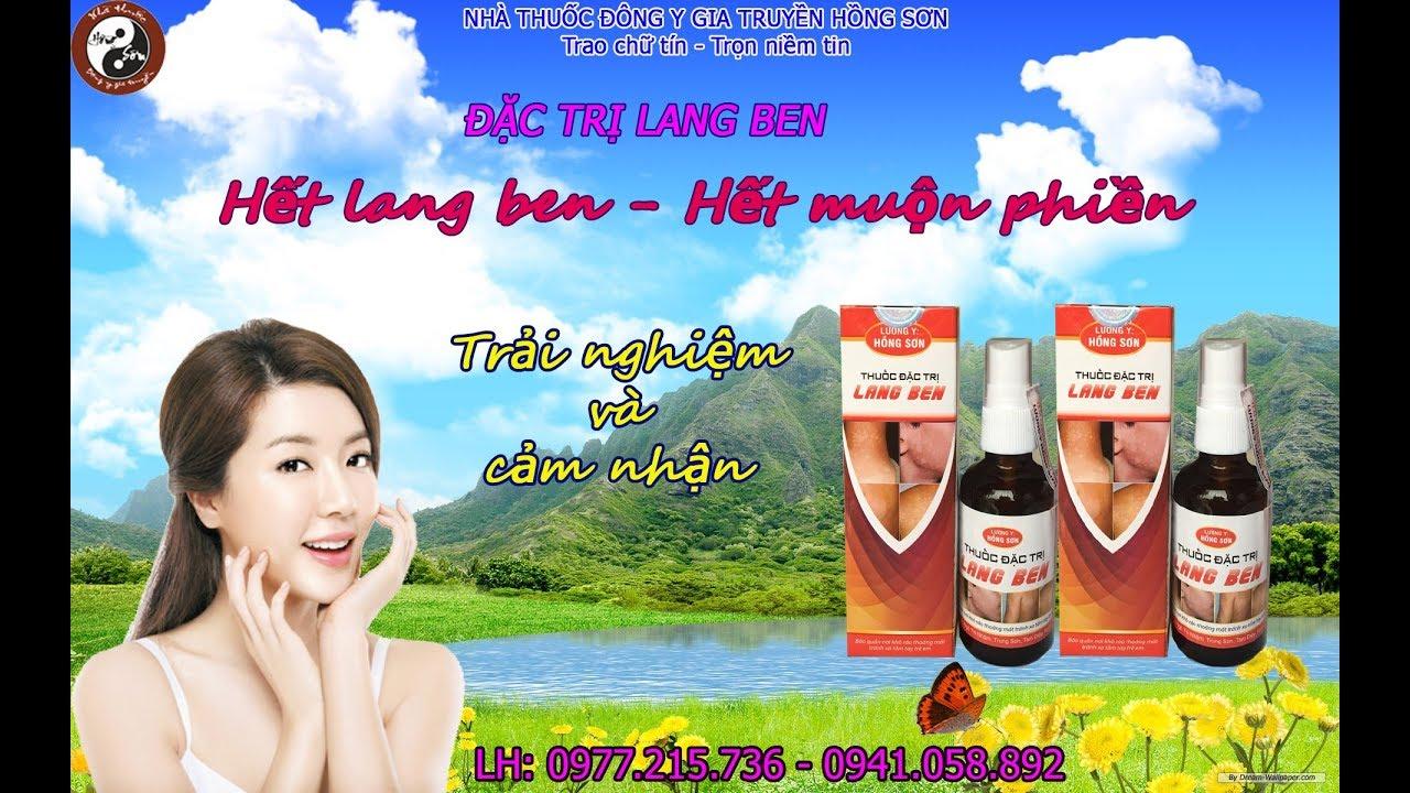 Chữa bệnh lang ben – Nhà thuốc Hồng Sơn đặc trị lang beng | nấm