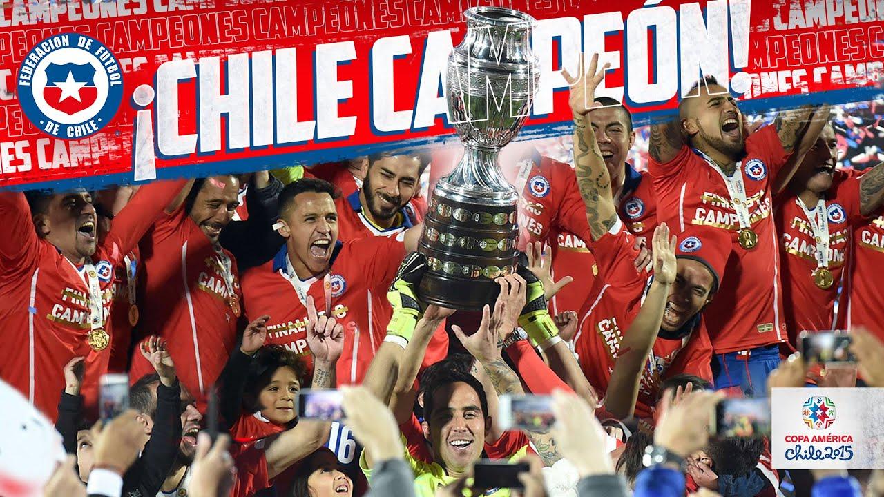 Chile Campeón Copa América 2015 I Final Chile vs Argentina - Penales