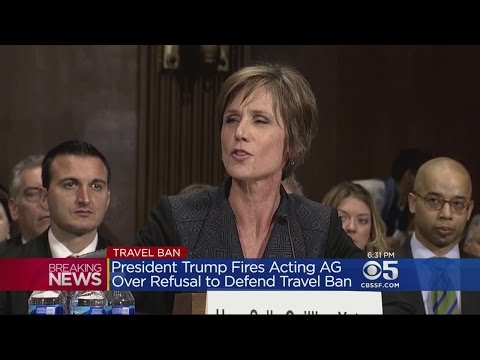 President Trump Fires Acting Attorney General