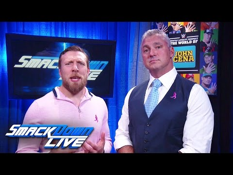 Thumbnail: Shane McMahon and Daniel Bryan issue Survivor Series challenge to Raw: SmackDown LIVE, Oct. 11, 2016