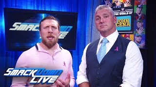 Baixar - Shane Mcmahon And Daniel Bryan Issue Survivor Series Challenge To Raw Smackdown Live Oct 11 2016 Grátis