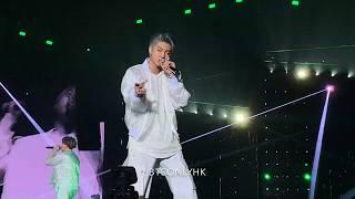 190320 Outro: Tear BTS(방탄소년단) Love Yourself Tour in Hong Kong 4K Fancam