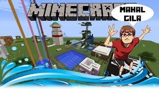 """""""KOLAM RENANG MAHAL GILA"""" Minecraft Fun Build Indonesia #6"""