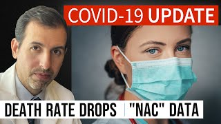 Coronavirus Update 114: COVID 19 Death Rate Drops; NAC (N acetylcysteine) Data