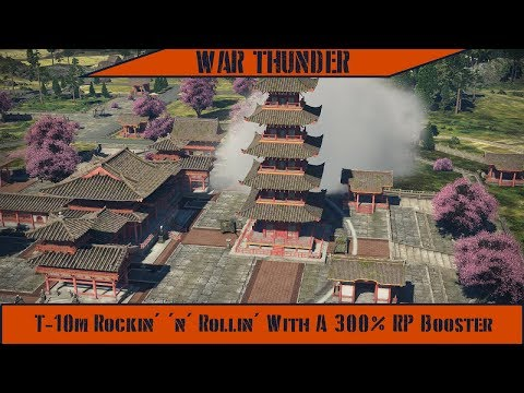 War Thunder - T-10m: Rockin' 'n' Rollin' With A 300% RP Booster