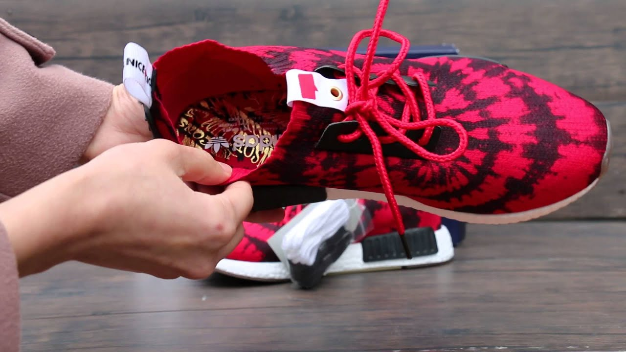 authentic nice kicks x adidas nmd review from solegeneral cn youtube