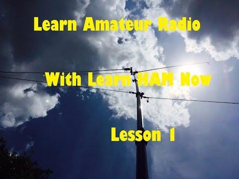 Amateur Radio HAM Technician Lesson 1 Questions T1A01 - T1A04 -Learn Ham Now!