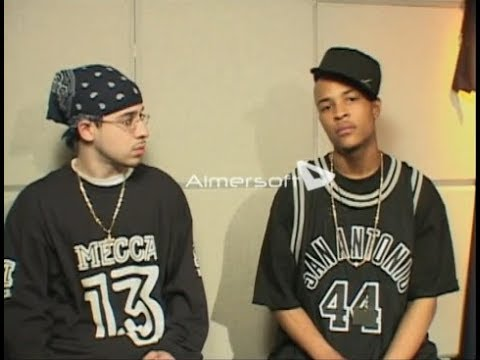 T.I. - Interview + 24's LIVE & Freestyle (2003)