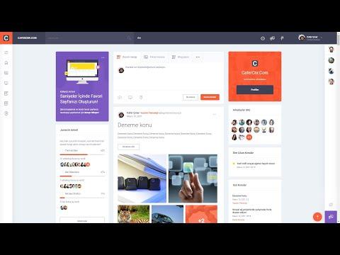 CaferCnr.Com Yazılım dünyasına kendi ipimizle indiğimiz yerli ve milli sosyal platform