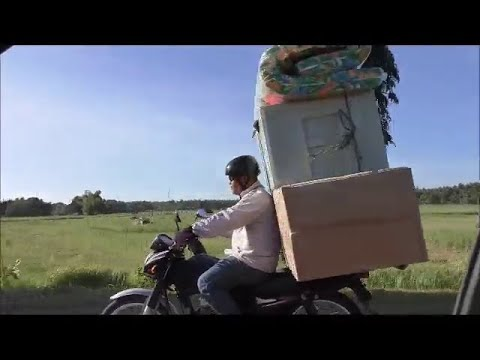 Motorcycles Stacked With Such Big Loads They Barely Have Control Risking Everyone's Lives from YouTube · Duration:  3 minutes 33 seconds