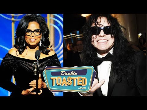 OPRAH WINFREY SPEECH, TOMMY WISEAU, AND MORE AT THE 2018 GOLDEN GLOBES AWARDS