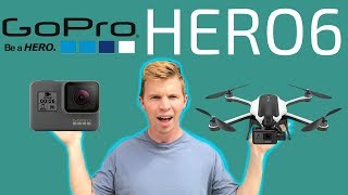 Unboxing & Test of NEW GoPro Hero6 & Karma Drone!!