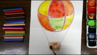 Уроки рисования. ПОЛЕТ. Для детей 5-7 лет.
