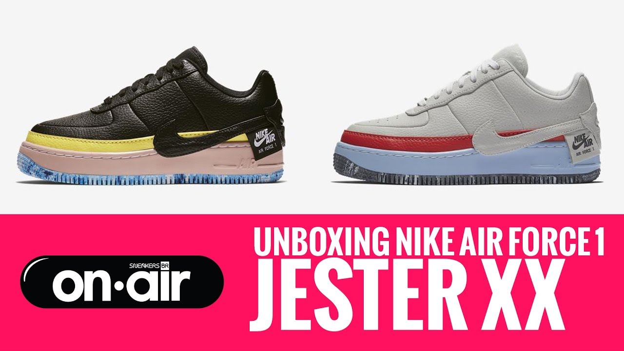 9aa51995e5c SBROnAIR Vol. 80 - Unboxing Nike Air Force 1 Jester XX  piranomeuair ...