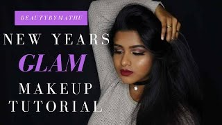 NEW YEARS GLAM Makeup Tutorial | BeautyByMathu