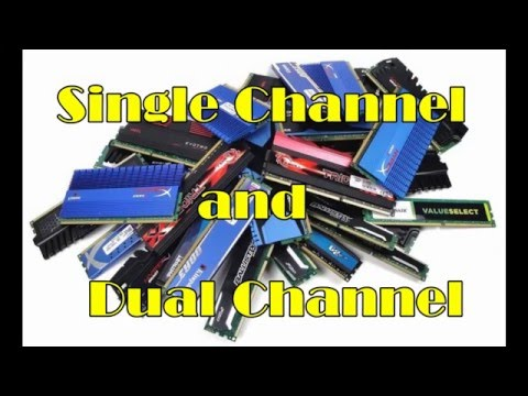 APU - Dual Channel vs. Single Channel