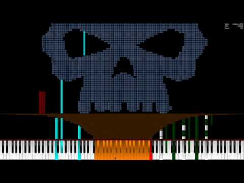 [Black MIDI] Spooky Scary Skeletons 4.05 Million | WIP 15