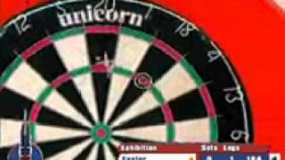 PDC World Championship Darts 2008 - Taylor vs Barneveld gameplay 01-17-08