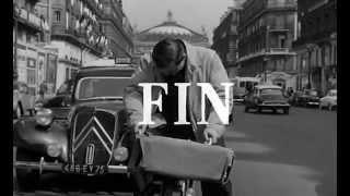 Lino Ventura à vélo à Paris - Lino Ventura cycling in Paris - Lino Ventura fuhr in Paris rad