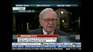 Warren Buffett CNBC - Europe will survive but it will be messy (07.05.12)