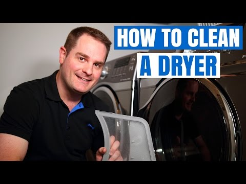 DRYER VENT CLEANING AND MAINTENANCE  (QUICK & EASY) !!