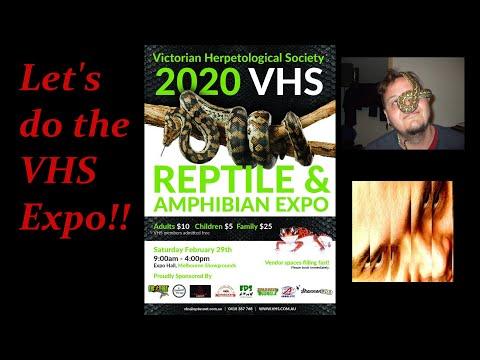 VHS EXPO 2020, Melbourne, Australia