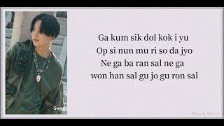 "(BTS SUGA) -""28(feat.NiiHWA)"" AGUST D(어거스트디)_EASY LYRICS"