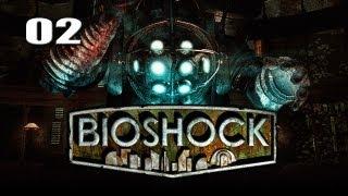 """Bioshock - Part 2 """"Our First Battle"""" / Gameplay Walkthrough"""