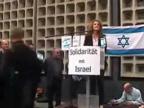 Pro Israel Demo Melody Sucharewicz.wmv