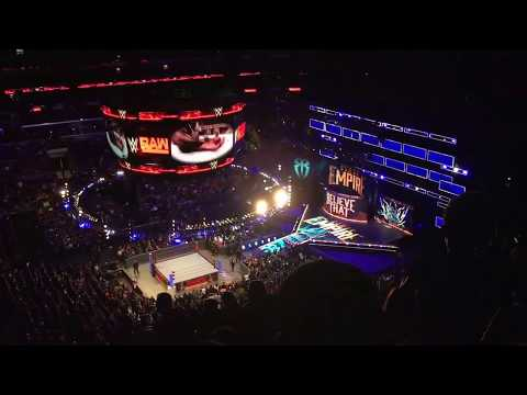 Summer 2017 Vlog #3 - WWE Raw at Staples Center