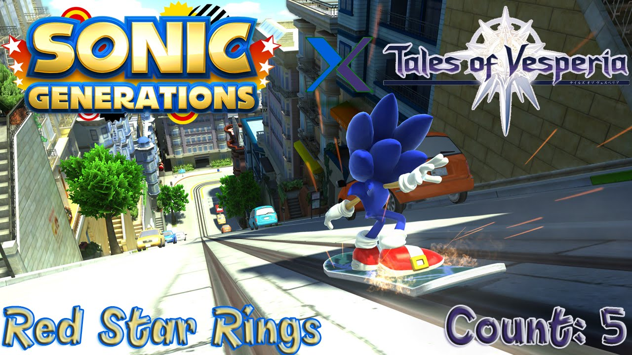Sonic Generations City Escape Red Rings