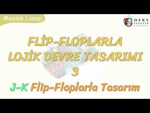 FLİP-FLOPLARLA LOJİK DEVRE TASARIMI - 3 / J-K FLİP-FLOPLARLA TASARIM
