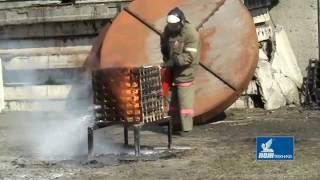 видео Воздушно-пенные огнетушители (ОПВ): применение, разновидности, подача ОТВ, правила ввода в работу