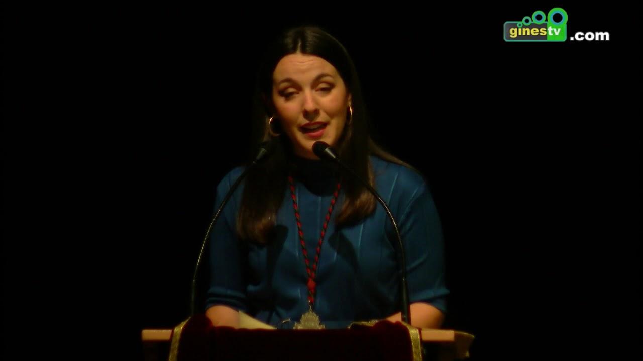 Carmen Millán pronunció el XVI Pregón Joven de la Hermandad Sacramental