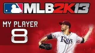 """MLB 2K13 My Player - Episode 8 """"Akron"""" (Gameplay & LIVE Commentary)"""