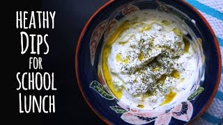 Healthy School Lunch Ideas: Delicious Dips For The Lunch Box   One Hungry Mama