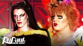 "Tina Burner & Utica's ""My Humps"" Lip Sync 🎤 RuPaul's Drag Race"