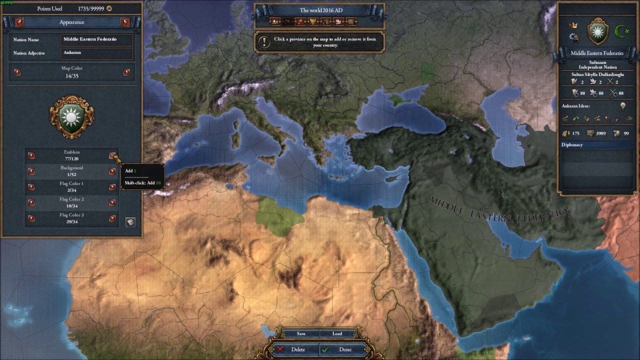 Creating Code Geass world on Eu4 Timelapse - YouTube