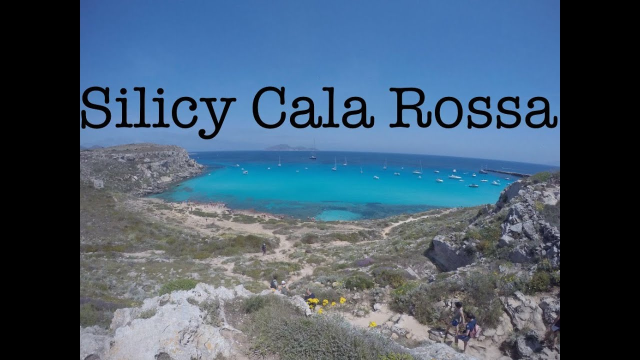 Sicily favignana cala rossa youtube for Calla rossa