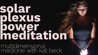 solar plexus chakra guided meditation