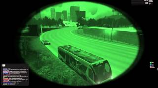 Arma 3 Life - Busride gets pulled over