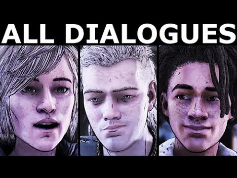 All Dialogues During The Card Game - The Walking Dead Final Season 4 Episode 1 |