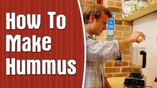RAW Hummus —Easy & Healthy Hummus Recipe