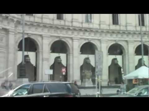 Cab Ride in Rome