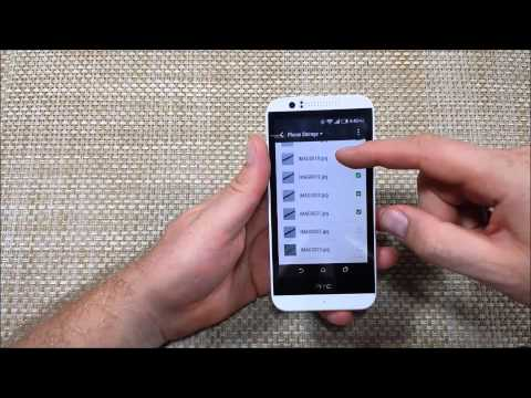 HTC Desire 510 Copy Move or Transfer files photos & folders from internal memory to external sd card
